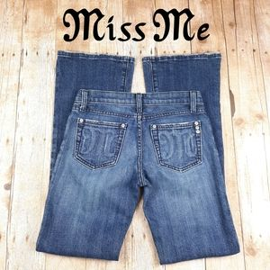 Miss Me Size 26 Subtle Design Jeans